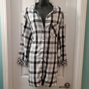 Victoria's Secret Flannel Nightshirt
